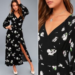 [FREE PEOPLE] So Sweetly Floral Midi Dress Small
